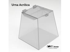Produzida com acrílico cristal, personalizado com adesivo ou gravação a laser.Tamanhos: 100x40x30cm / 80x40x25cm / 60x35x20cm / 40x30x20cm / 30x25x18cmConsulte outros tamanhos.