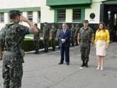 24º  Batalhão de Infantaria Leve homenageia Sistema Fecomércio no Maranhão
