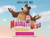"""O Melhor espetáculo infantil """"MASHA E O URSO"""" está chegando em São Luís"""