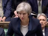 Premiê May enfrenta voto de desconfiança após derrota histórica no Parlamento britânico