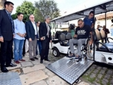 Carrinhos elétricos serão utilizados no Centro Histórico visando garantir mais mobilidade