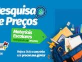 Procon/MA encontra variação de até 394,95% nos preços do material escolar em São Luís