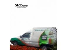 Envelopamento parcial em veículos com adesivos especiais de alta performance.Medidas e projetos: consultar setor comercial.