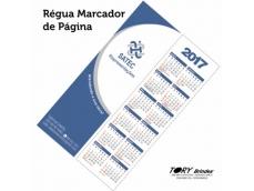 Régua e Marcador de Página, PVC 0,5mm - personalização serigráfica.Tamanho: 20cm