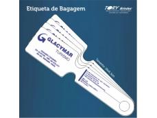 Plástico flexível com bolso transparente para etiqueta.Cores variadas, personalização em serigrafia ou impressão digital.