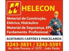 Aqui na HELECON voce encontra os melhores preços em: Material de Construção ; Elétrico ; Hidráulico ; Material de Segurança e muito mais...Venha nos conhecer!