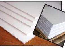 PVC ESPANDIDO BRANCO 1,24 X 2,442MM / 3MM / 5 MM / 10MM / 15MM / 20MM