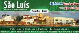 Mapa Turístico São Luís - MA  Brasil