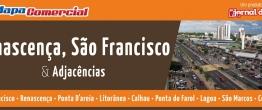 Mapa Comercial -Renascença/ São Francisco.