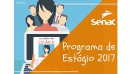 Senac inicia Programa de Estágio 2017