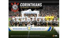 Corinthians vence Flu por 3x1 e é campeão brasileiro pela sétima vez