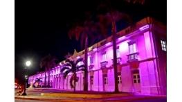 Prefeitura de São Luís ilumina prédios e espaços públicos em alusão ao Outubro Rosa