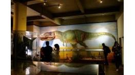 Museu com dinossauros é opção de diversão gratuita durante as férias em São Luís