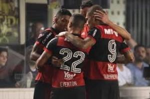 Flamengo perde para o Santos, mas vai à semifinal da Copa do Brasil