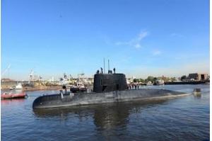 Marinha argentina vai analisar ruído vindo de região onde submarino desapareceu