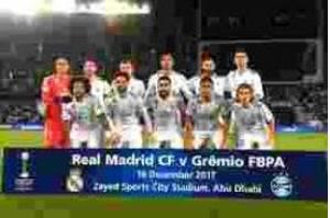 Real Madrid vence o Grêmio por 1 x 0 e conquista o Mundial de Clubes
