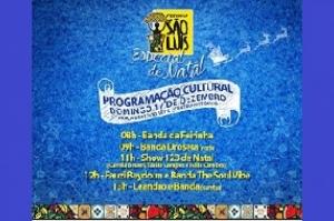Feirinha São Luís terá edição especial de natal neste domingo (17)