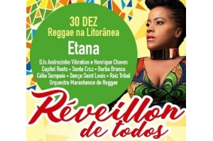 Etana traz reggae marcante e voz poderosa para o Réveillon de Todos em São Luís