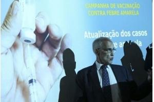 Registros de mortes por febre amarela aumentam cinco vezes em uma semana