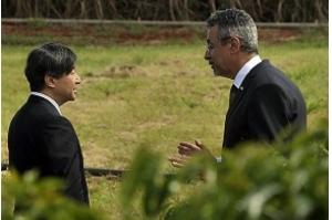 Em visita à Embrapa, príncipe Naruhito conhece plantações de café, soja e cana