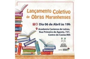 Lançamento Coletivo de Escritores Maranhenses em Caxias