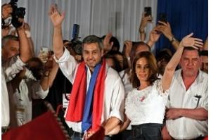 Mario Abdo vence as eleições presidenciais no Paraguai