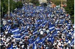 Protesto em Manágua aumenta pressão sobre presidente da Nicarágua