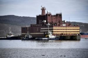 Rússia apresenta a primeira central nuclear flutuante do mundo