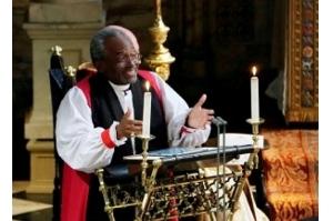 Pastor americano anima casamento real com sermão sobre o amor