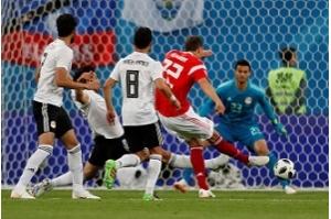 Sexto dia da Copa marca classificação da Rússia para oitavas de final