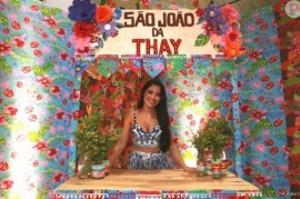 Thaynara OG celebra São João em festa com famosos: 'Quero que vire tradição'