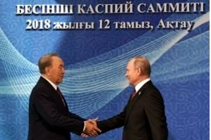 Cinco países firmam histórico acordo sobre estatuto do mar Cáspio