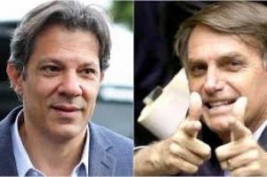 Datafolha: Bolsonaro tem 28% das intenções de voto; Haddad tem 16%