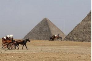 Especialistas descobrem como rochas eram movidas com rampas no Antigo Egito