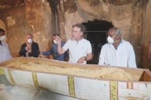 Egito revela múmia de mais de 3 mil anos em Luxor