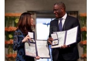 Ganhadores do Nobel da Paz pedem justiça contra abusos sexuais