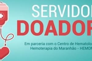 Servidor Doador: campanha de doação de sangue acontece nesta quarta-feira (12)