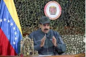 Em vídeo, homem com uniforme militar na Venezuela pede que Maduro não seja reconhecido