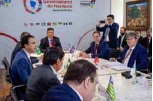 """""""É histórico"""", dizem governadores sobre criação do Consórcio Nordeste em São Luís"""