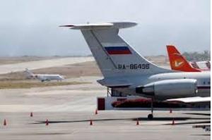 Aviões da Força Aérea da Rússia aterrissam na Venezuela carregando tropas