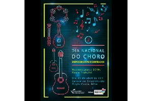 Escola de Música celebra Dia do Choro no Odylo Costa Filho nesta terça (23)
