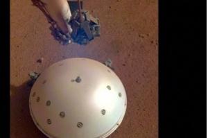 Sonda da Nasa registra pela primeira vez tremor na crosta de Marte