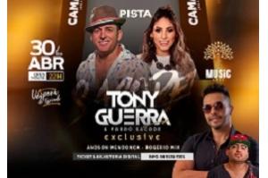 VÉSPERA DE FERIADO TEM SHOW DE TONY GUERRA & FORRÓ SACODE EXCLUSIVE
