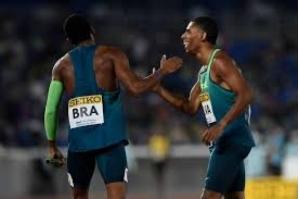 Brasil surpreende EUA em final de revezamento 4x100m e conquista vitória