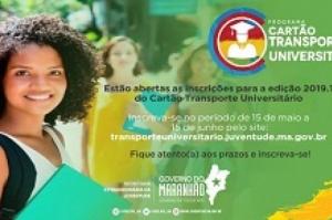 Governo abre inscrições para o Programa Cartão Transporte Universitário