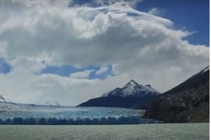 Campo de gelo na Patagônia chilena é rompido por mudanças climáticas