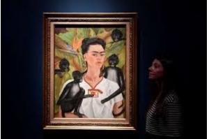 México divulga possível gravação de rádio com voz de Frida Kahlo