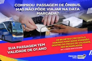 Consumidor tem direito de remarcar passagem de ônibus em casos de imprevistos