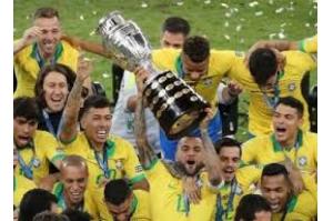 Brasil derrota Peru por 3 x 1 e conquista título da Copa América no Maracanã