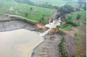 Deve chover até domingo em área de barragem na Bahia